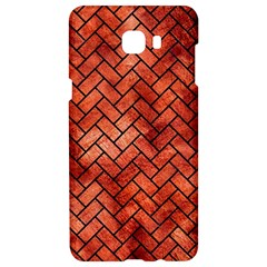 Brick2 Black Marble & Copper Paint Samsung C9 Pro Hardshell Case  by trendistuff