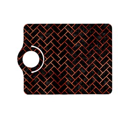 Brick2 Black Marble & Copper Paint (r) Kindle Fire Hd (2013) Flip 360 Case by trendistuff
