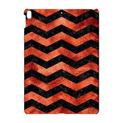 Chevron3 Black Marble & Copper Paint Apple Ipad Pro 10 5   Hardshell Case by trendistuff