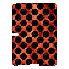 Circles2 Black Marble & Copper Paint Samsung Galaxy Tab S (10 5 ) Hardshell Case  by trendistuff
