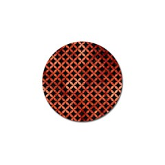 Circles3 Black Marble & Copper Paint (r) Golf Ball Marker (10 Pack) by trendistuff