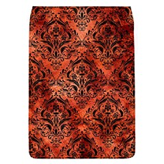Damask1 Black Marble & Copper Paint Flap Covers (l)  by trendistuff
