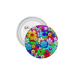 Flowers Ornament Decoration 1 75  Buttons by Celenk