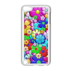 Flowers Ornament Decoration Apple Ipod Touch 5 Case (white) by Celenk