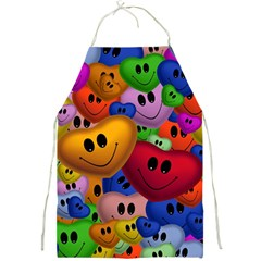 Heart Love Smile Smilie Full Print Aprons