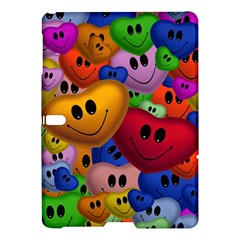 Heart Love Smile Smilie Samsung Galaxy Tab S (10 5 ) Hardshell Case  by Celenk