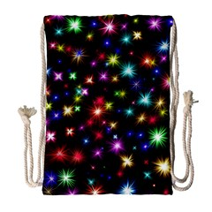 Fireworks Rocket New Year S Day Drawstring Bag (large) by Celenk