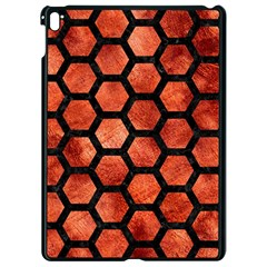 Hexagon2 Black Marble & Copper Paint Apple Ipad Pro 9 7   Black Seamless Case by trendistuff