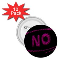 No Cancellation Rejection 1 75  Buttons (10 Pack)