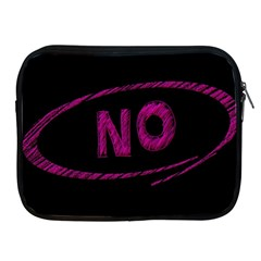 No Cancellation Rejection Apple Ipad 2/3/4 Zipper Cases by Celenk