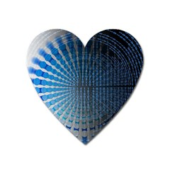 Data Computer Internet Online Heart Magnet