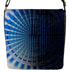 Data Computer Internet Online Flap Messenger Bag (s)