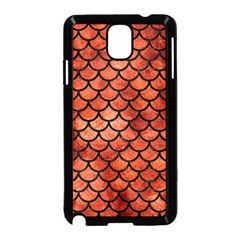 Scales1 Black Marble & Copper Paint Samsung Galaxy Note 3 Neo Hardshell Case (black) by trendistuff