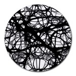 Neurons Brain Cells Brain Structure Round Mousepads