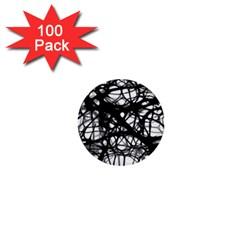 Neurons Brain Cells Brain Structure 1  Mini Buttons (100 pack)