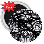 Neurons Brain Cells Brain Structure 3  Magnets (10 pack)