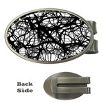 Neurons Brain Cells Brain Structure Money Clips (Oval)