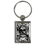 Neurons Brain Cells Brain Structure Key Chains (Rectangle)
