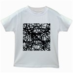 Neurons Brain Cells Brain Structure Kids White T-Shirts