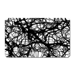 Neurons Brain Cells Brain Structure Magnet (rectangular) by Celenk