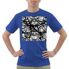 Neurons Brain Cells Brain Structure Dark T-Shirt