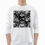 Neurons Brain Cells Brain Structure White Long Sleeve T-Shirts