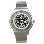 Neurons Brain Cells Brain Structure Stainless Steel Watch