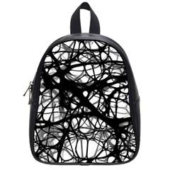 Neurons Brain Cells Brain Structure School Bag (Small)