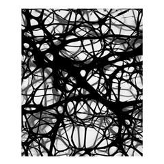 Neurons Brain Cells Brain Structure Shower Curtain 60  x 72  (Medium)
