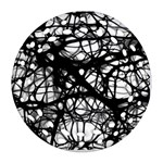 Neurons Brain Cells Brain Structure Ornament (Round Filigree)