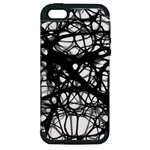 Neurons Brain Cells Brain Structure Apple iPhone 5 Hardshell Case (PC+Silicone)