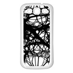 Neurons Brain Cells Brain Structure Samsung Galaxy S3 Back Case (White)