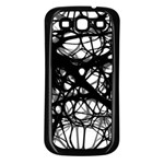 Neurons Brain Cells Brain Structure Samsung Galaxy S3 Back Case (Black)