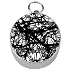 Neurons Brain Cells Brain Structure Silver Compasses