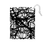 Neurons Brain Cells Brain Structure Drawstring Pouches (Large)