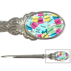 Stickies Post It List Business Letter Openers by Celenk