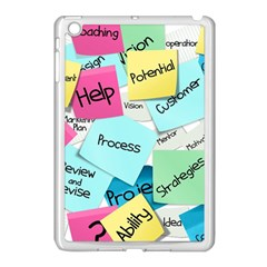 Stickies Post It List Business Apple Ipad Mini Case (white) by Celenk