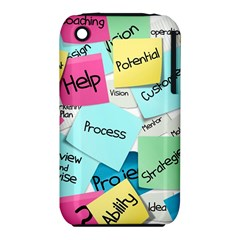 Stickies Post It List Business Iphone 3s/3gs by Celenk