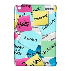 Stickies Post It List Business Apple Ipad Mini Hardshell Case (compatible With Smart Cover) by Celenk