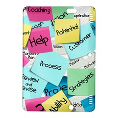 Stickies Post It List Business Kindle Fire Hdx 8 9  Hardshell Case by Celenk