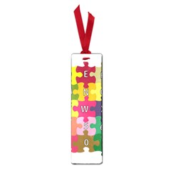 Puzzle Part Letters Abc Education Small Book Marks by Celenk