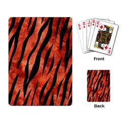 Skin3 Black Marble & Copper Paint Playing Card by trendistuff