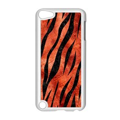 Skin3 Black Marble & Copper Paint Apple Ipod Touch 5 Case (white) by trendistuff