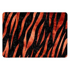 Skin3 Black Marble & Copper Paint (r) Samsung Galaxy Tab 8 9  P7300 Flip Case by trendistuff