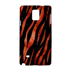 Skin3 Black Marble & Copper Paint (r) Samsung Galaxy Note 4 Hardshell Case by trendistuff