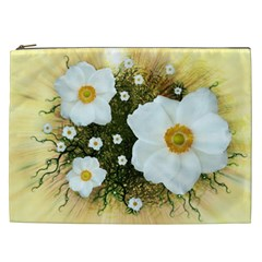Summer Anemone Sylvestris Cosmetic Bag (xxl)  by Celenk