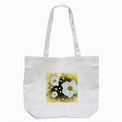 Summer Anemone Sylvestris Tote Bag (white) by Celenk