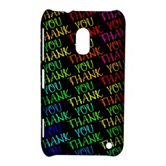 Thank You Font Colorful Word Color Nokia Lumia 620 by Celenk