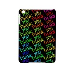Thank You Font Colorful Word Color Ipad Mini 2 Hardshell Cases by Celenk