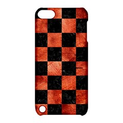 Square1 Black Marble & Copper Paint Apple Ipod Touch 5 Hardshell Case With Stand by trendistuff